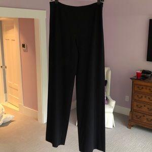 Armani wide leg pants. Navy size 6